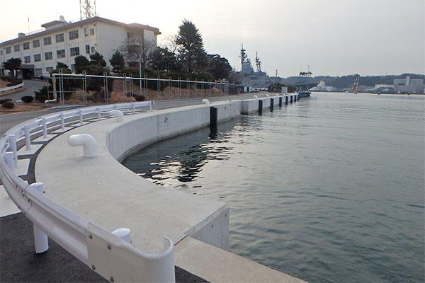 船越岸壁改修工事