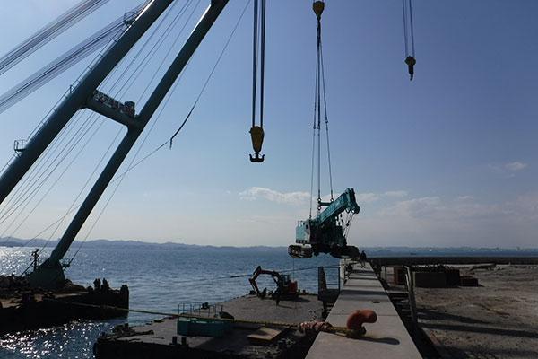 第二海保海上運搬工事