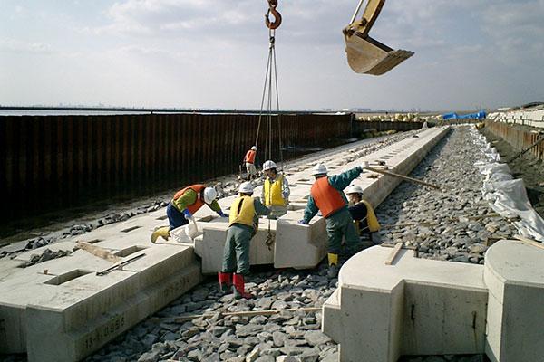 千葉港海岸環境整備工事